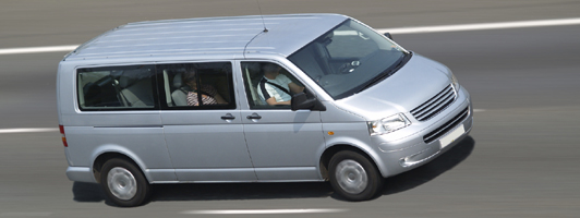 Heathrow minivan shuttle